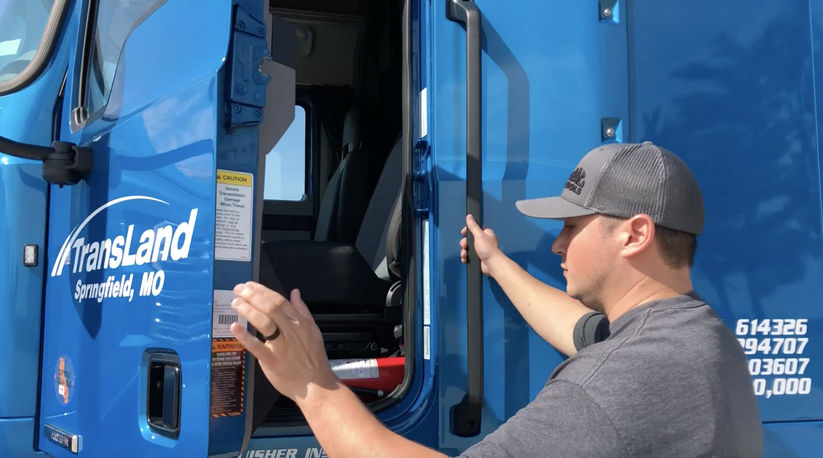 Inside a 2019 Mack Anthem