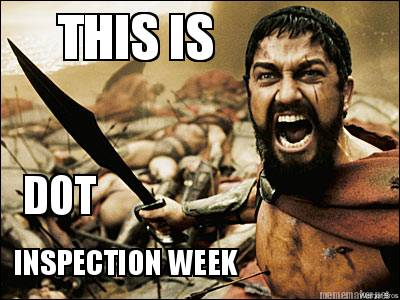 DOT inspection week